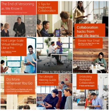 Office 365: Coleção de ebooks gratuitos de produtividade