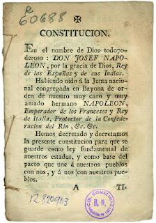 Constitucionalismo español del s XIX