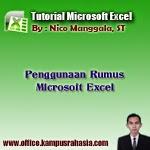 Penggunaan Rumus Microsoft Excel beserta Contoh