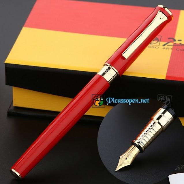 Bút Picasso 988 màu đỏ