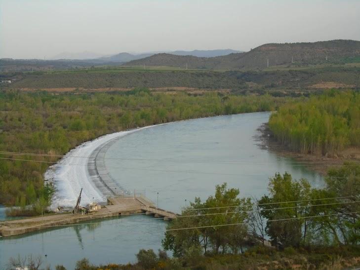 Salto de Arias I en el río Cinca