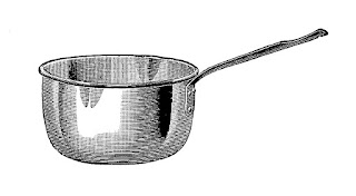 kitchen cooking sauce pan image digital clip art