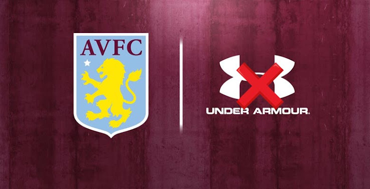 Aston Villa And Under Armour End Kit Deal Ahead Of Schedule Ground Breaking Innovative New Kit Partner Coming Soon Footy Headlines