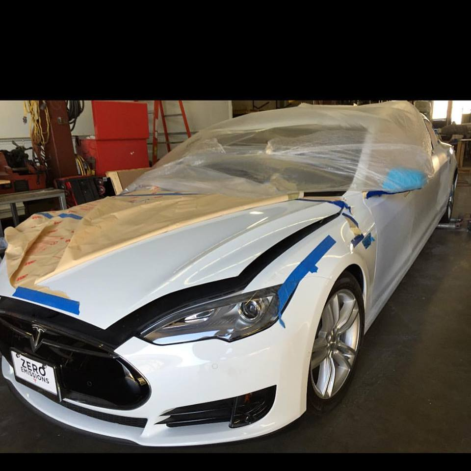 'World's First' Tesla Model S Limo Selling For $67k On Ebay