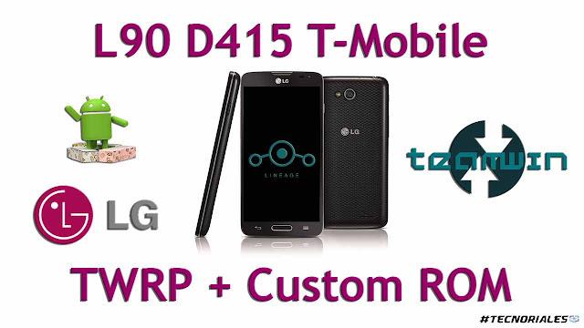 twrp + custom rom l90 d415