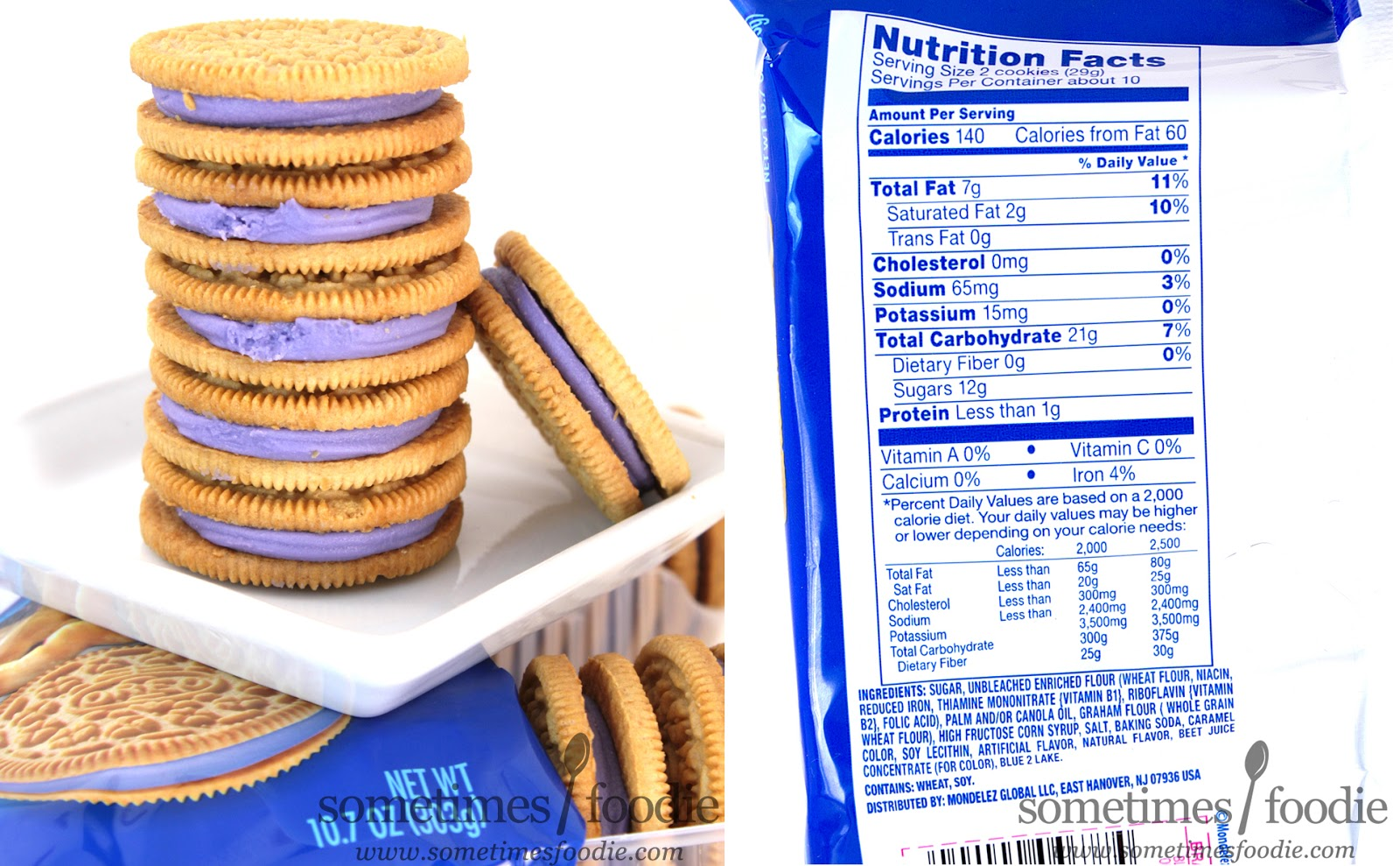 O S American Kitchen Nutrition Facts