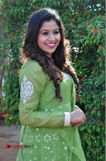 Actress Manaali Rathod Latest Pictures in Green Dress  0027.JPG