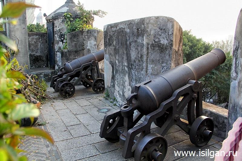 Форт Монте (Fortaleza Do Monte). Город Макао. Китай