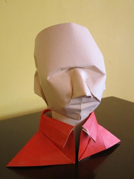 Modularer Origami-Bastelwürfel, Hamster, Akira Yoshizawa, Kunst ...   576x432