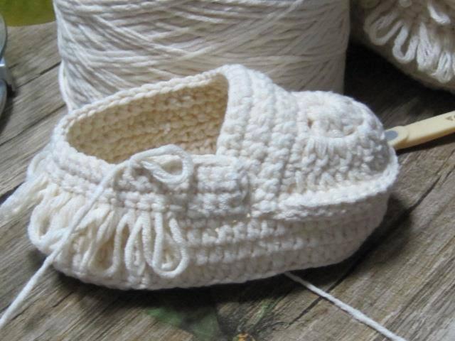 Cómo tejer unas botas para bebé