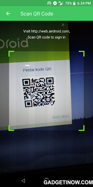 kode QR AirDroid