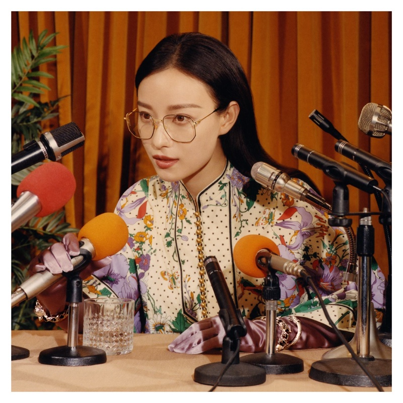 Ni Ni stars in Gucci Eyewear fall-winter 2018 campaign