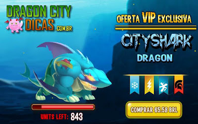 Oferta VIP do Dragão Cityshark