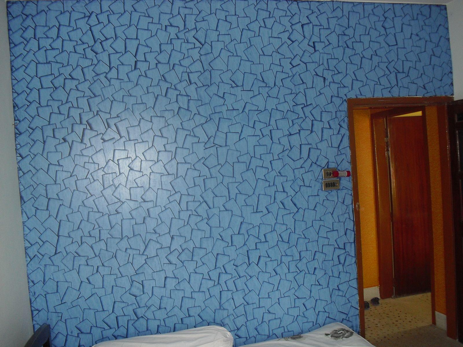 Natural ornamental lime plaster for interior (stuc finish Saif Ali Khan - Royal Play Asian Paints