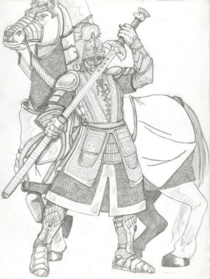 Knight And Armor Coloring Pages Sketch Coloring Page