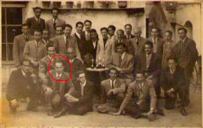 Socios fundadores del Club de Ajedrez Olot