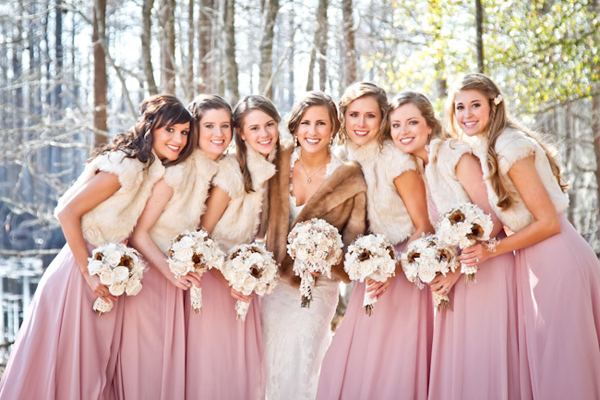 It Is Also Important To Choose The Right Shoes And Socks Keep Your Bridesmaids Warm Legs Feet You Can Ask Girls Wear Closed Toe With
