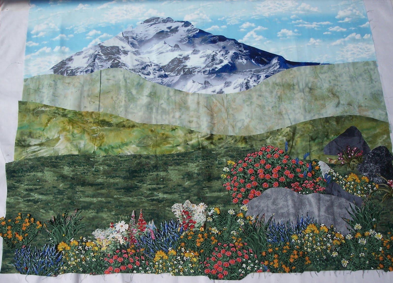 Landscape Quilt Patterns Cool Inspiration Ideas