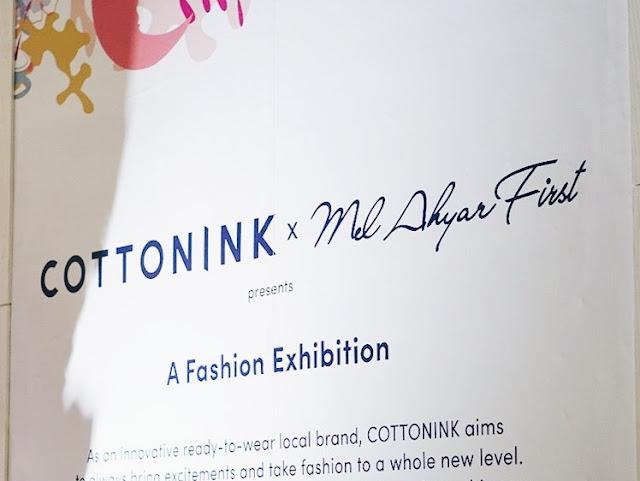 cottonink x maf fashion exhibition