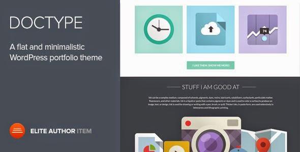 Free WordPress Portfolio Theme 2015