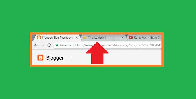 Don't go widget for Blogger