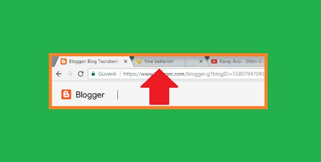 Don't go widget for Blogger