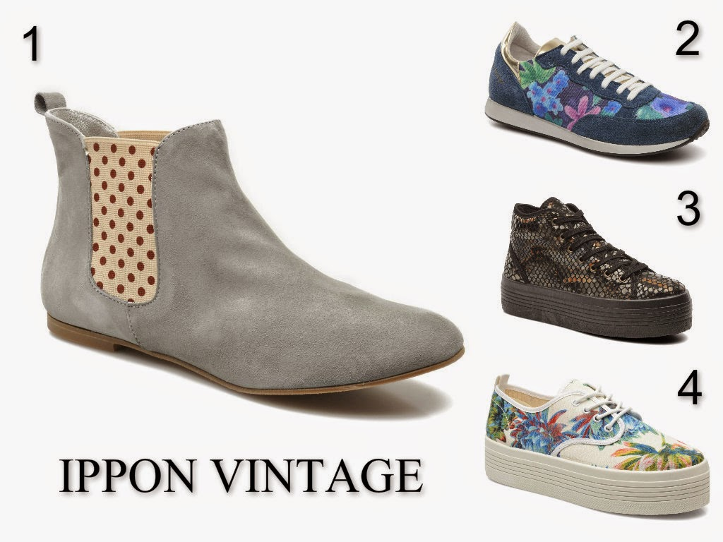 Vans, New balance, Ippon vintage