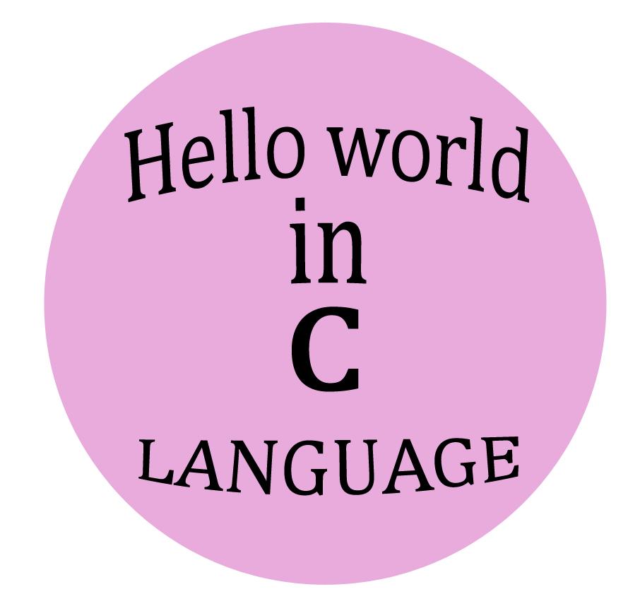 Hello World: EASY IT: C Hello World Program