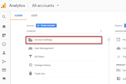 Cara Menghapus Akun/ ID Google Analytics - Update