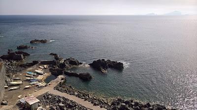 Ginostra port.