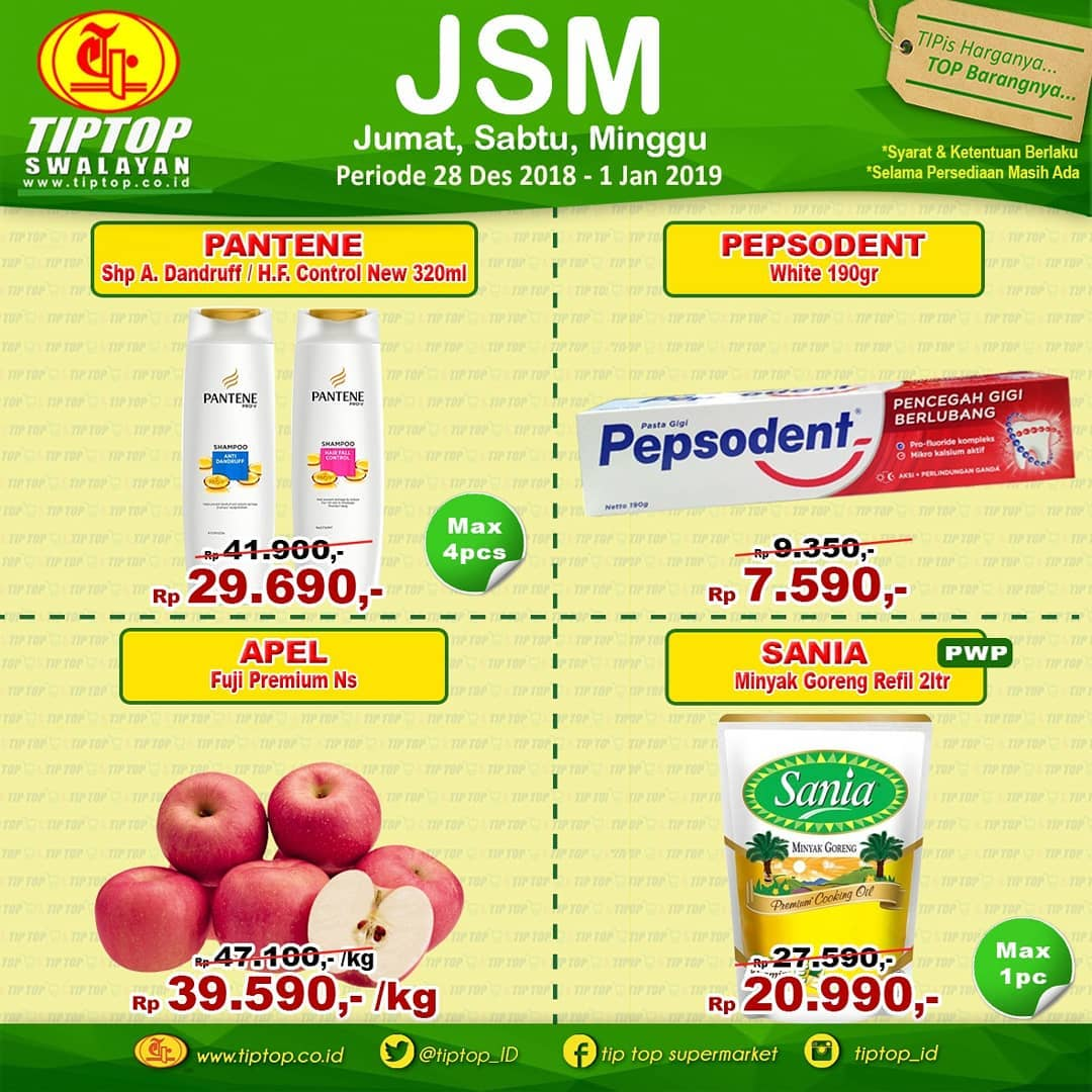 #TipTop - Promo Katalog JSM Periode 28 - 01 Jan 2018