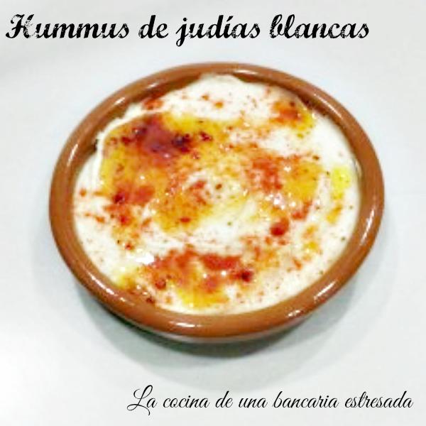Receta hummus de judías blancas paso a paso