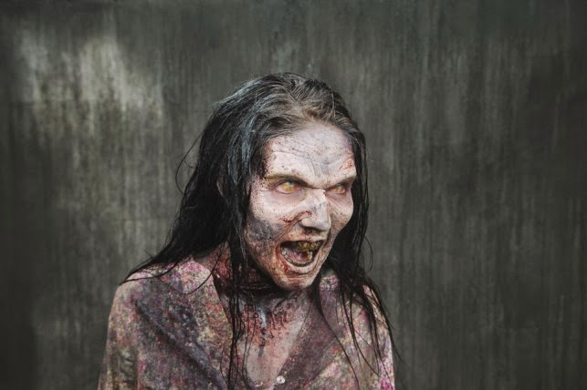 Asi se hace un zombie de The Walking Dead