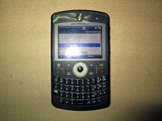 hape jadul Motorola Q9h