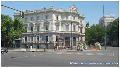 Madrid; Viagem Europa; Turismo na Espanha; Praça de Cibeles; Banco de Espanha