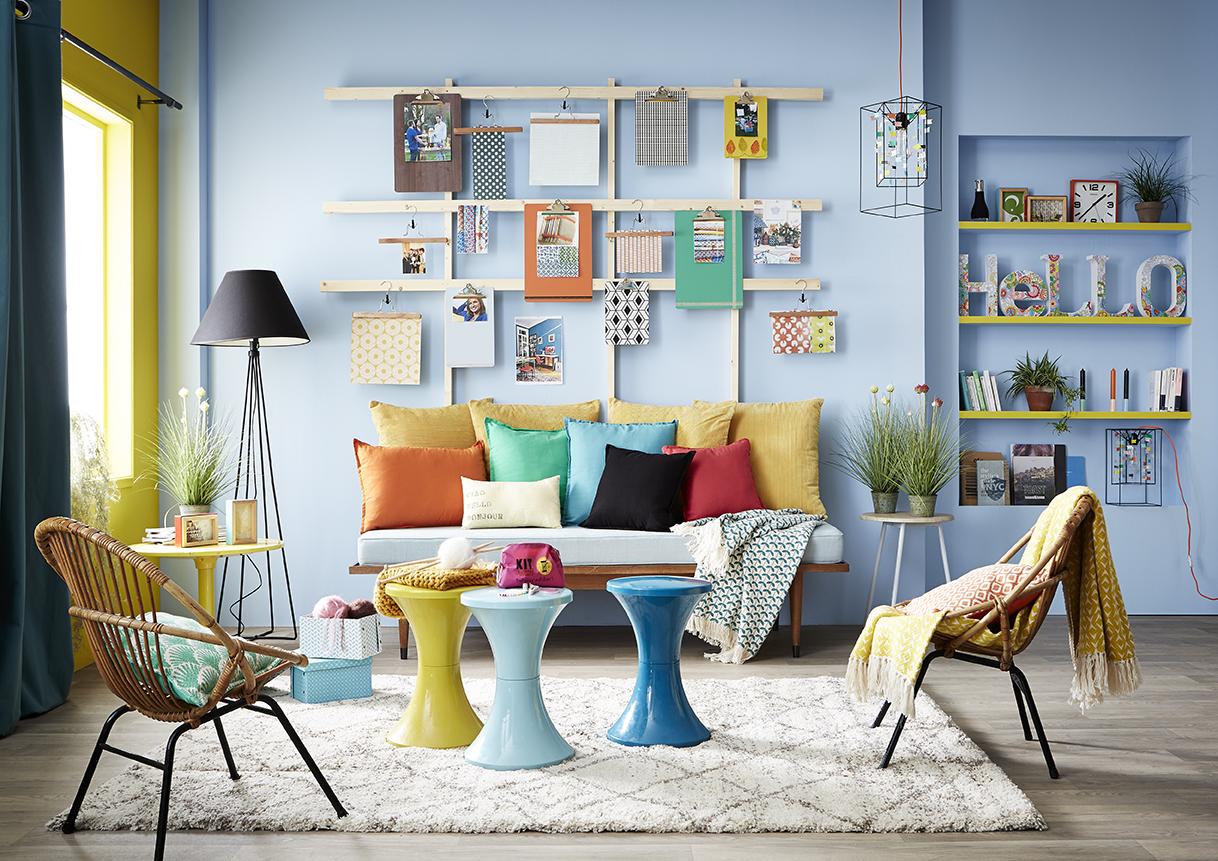 decolau cr er un p le m le super d co en quelques minutes. Black Bedroom Furniture Sets. Home Design Ideas