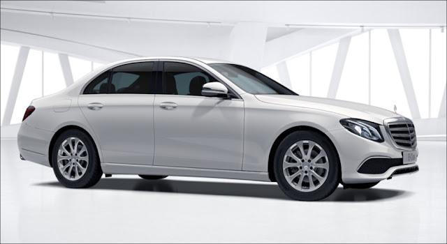 Mercedes E200 2019 được thiết thế theo phong cách cổ điển và lịch lãm