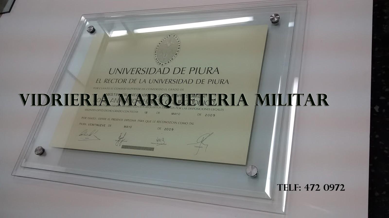Vidrieria marqueter a militar - Marcos de cristal ...