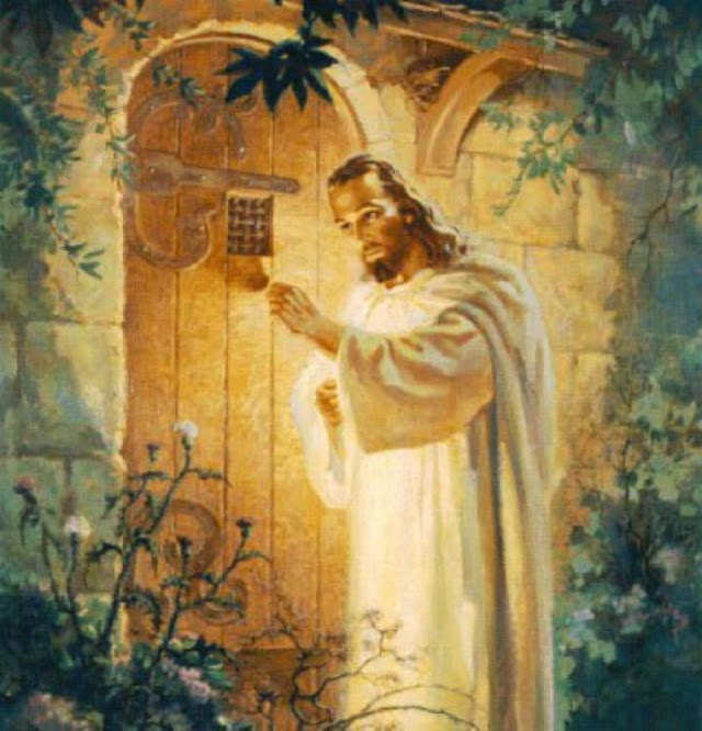 Friends of Divine: BEHOLD, I STAND AT THE DOOR AND KNOCK ...