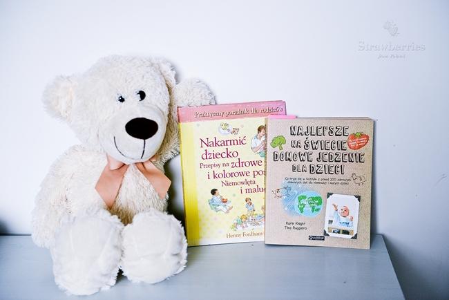 Książka o jedzeniu dla niemowlaka