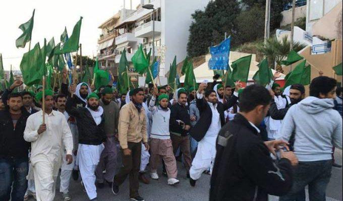 Οργή των Κρητικών κατά των Πακιστανών στο Τυμπάκι …Μπαράζ Συλλήψεων (video)