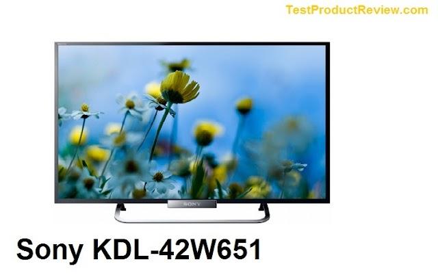 Sony KDL-42W651 42-inch Full HD Smart LED TV