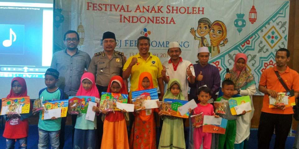 Festival Anak Sholeh Indonesia bersama CJ Feed