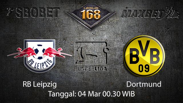 BOLA88 - PREDIKSI TARUHAN BOLA RB LEIPZIG VS DORTMUND 04 MARET 2018 ( GERMAN BUNDESLIGA )
