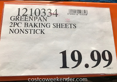 Deal for the GreenPan 2-piece Sheet Pan Set at Costco