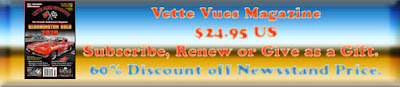 Subscribe to Vette Vues Magazine - Corvette Magazine Subscription