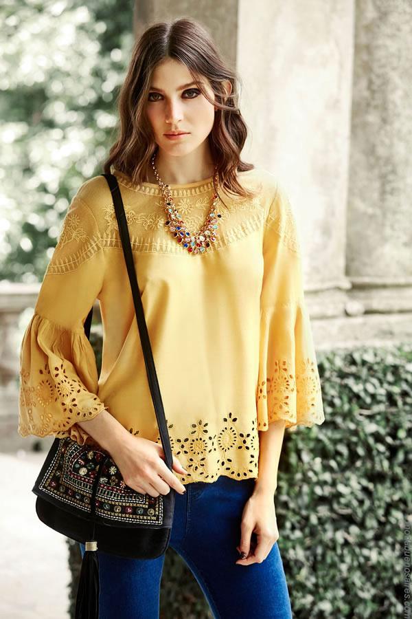 Blusas de moda mujer invierno 2017 ropa de mujer India Style.