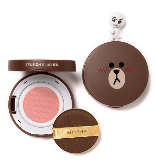 Missha Line Friends Blush Pink Ruffle