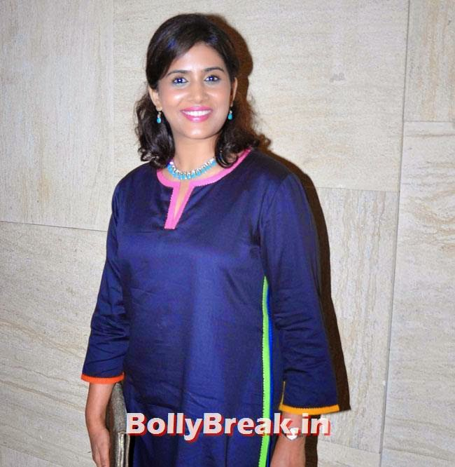Sonali Kulkarni, Marathi Actresses Pics from Music Launch of Marathi Film Lai Bhari - June 2014