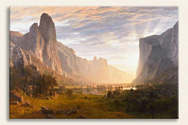 Albert Bierstadt Yosemite Vadisi'ne Bakış